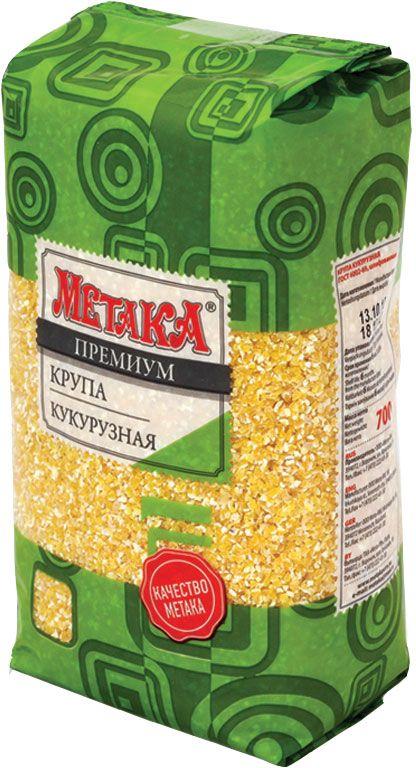 Метака крупа кукурузная, 700 г сибирская клетчатка sk fiberia sport фитококтейль клетчатка клубника 350 г