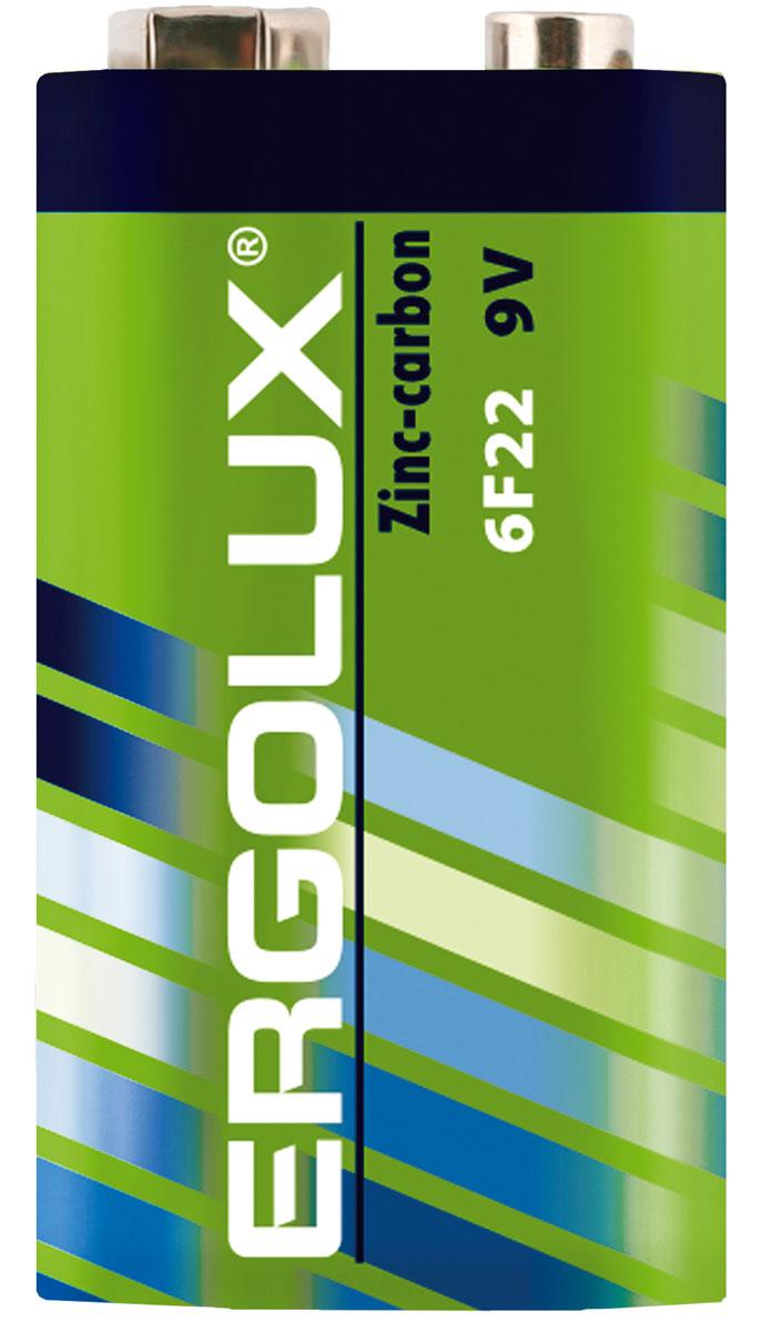 Батарейка солевая Ergolux, тип 6F22, 9 В12443Недорогая солевая батарейка. Надежна в эксплуатации. Идеальная батарейка для ежедневного использования. Устойчива к протеканию. Не содержит ртути и кадмия.