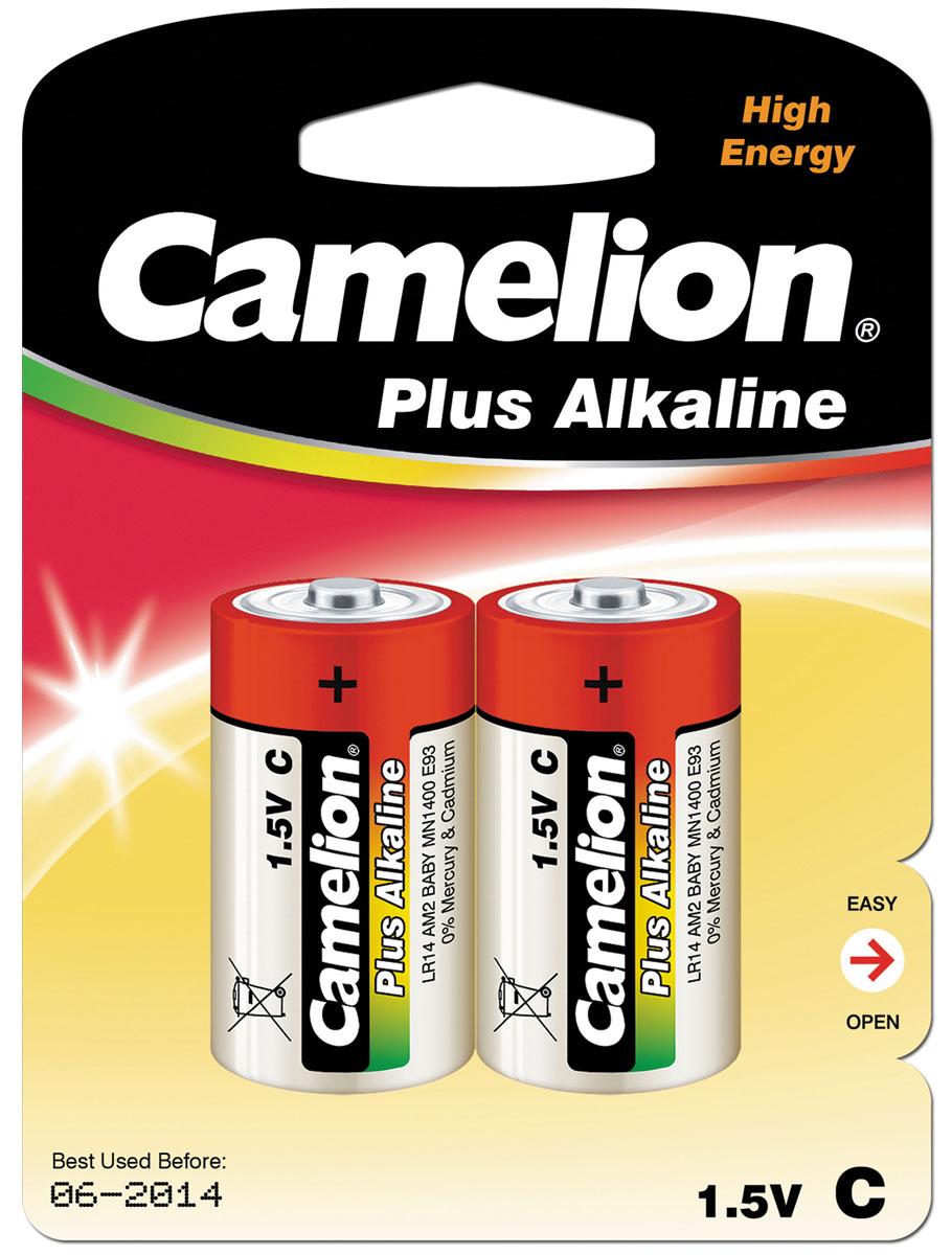 Батарейка Camelion, тип - C, 1,5В, алкалиновая, 2 шт1653Алкалиновые батарейки Camelion оптимально подходят для повседневного питания многочисленной мелкой и среднегабаритной техники, электроинструмента. Батарейки прошли многоуровневый контроль качества и не содержат ртути и кадмия. Работают в 10 раз дольше, чем обычные солевые элементы питания. В комплект входят две батарейки типа С.