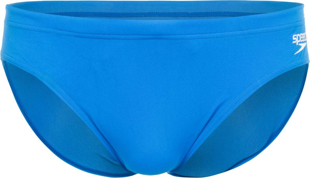 Плавки мужские Speedo Essential Endurance+ 7cm Sportsbrief, цвет: голубой. 8-083542610-2610. Размер 34 (44/46)8-083542610-2610Классические спортивные плавки, выполненные из ткани Endurance+, которая не содержит в своем составе эластомеров, тем самым являясь на 100% устойчивой к разрушительному воздействию хлора. Длина бокового шва - 7 см.