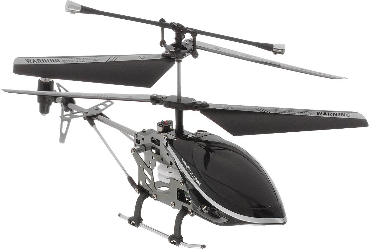 HappyCow Вертолет на инфракрасном управлении I-Helicopter цвет черный 19 см happycow