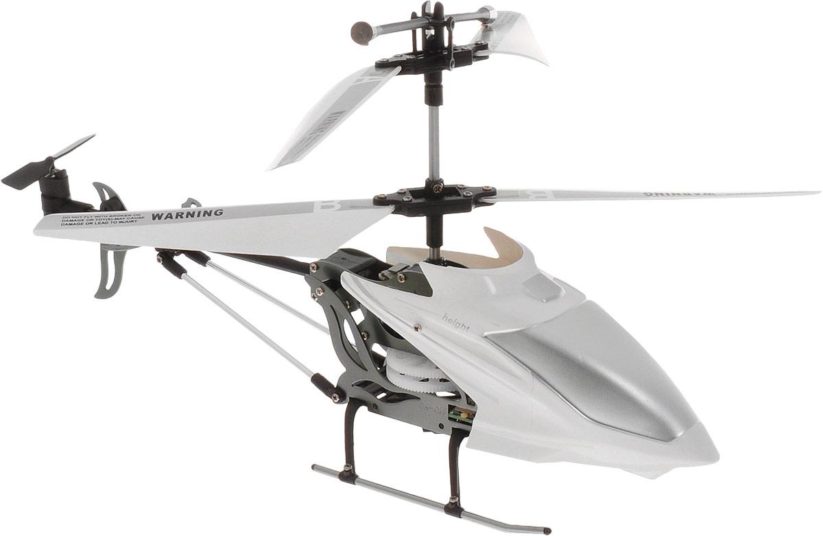 HappyCow Вертолет на инфракрасном управлении I-Helicopter цвет белый 22 см happycow