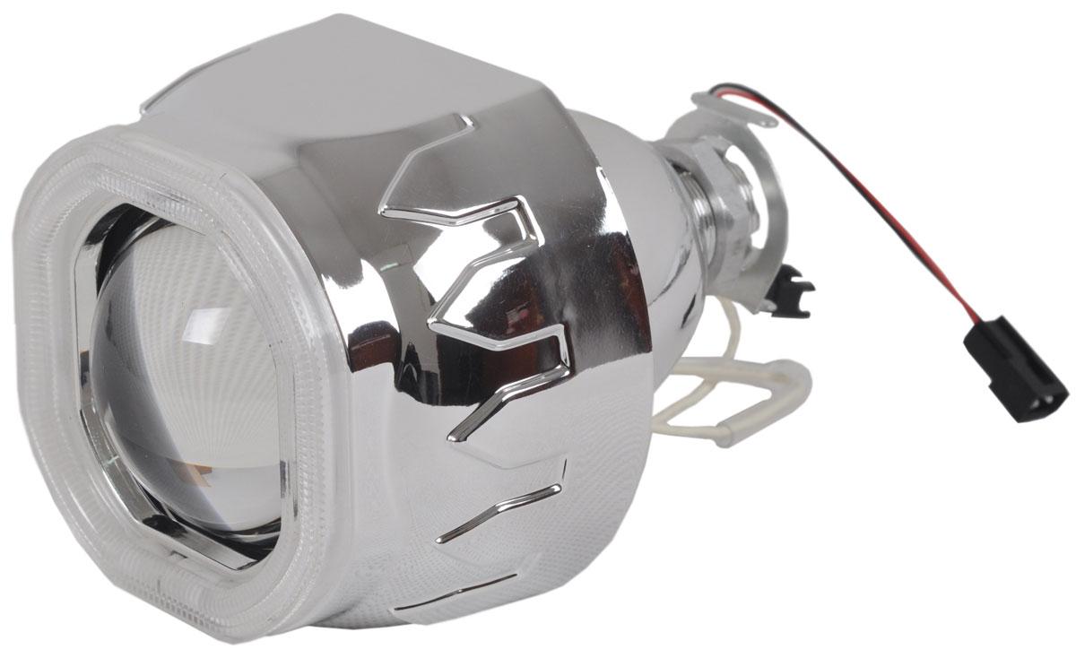 Купить Биксеноновая линза Jpower Ангельский глаз , 2, 5 дюйма, в фару с Н4/Н7, под лампу H1, 1 шт