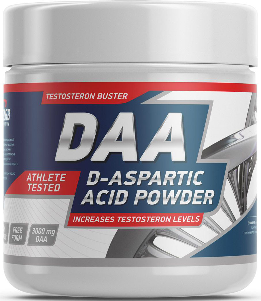 Тестостерон Geneticlab Nutrition D-Aspartic Acid, без вкуса, 100 г жиросжигатель geneticlab nutrition l carnitine яблоко 150 г