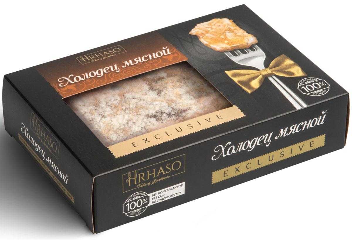 Рускон Hrhaso холодец мясной, 400 г6140Уникальный экопродукт, в котором идеально сбалансировано содержание макро- и микроэлементов, витаминов и минеральных веществ.