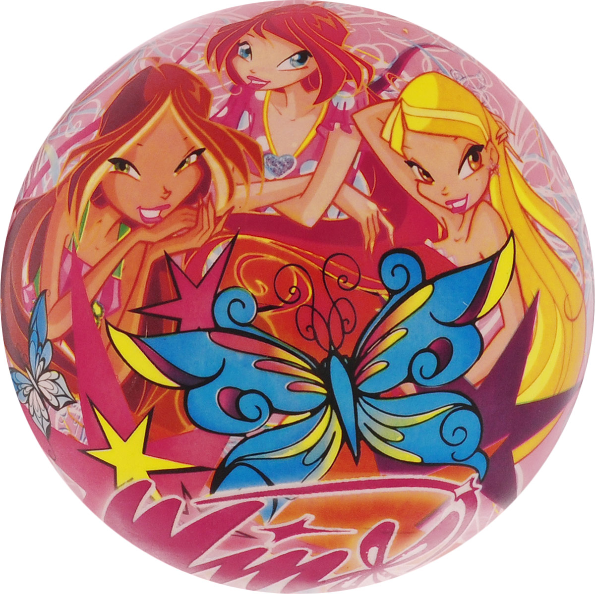 Играем вместе Мяч Winx 23 см