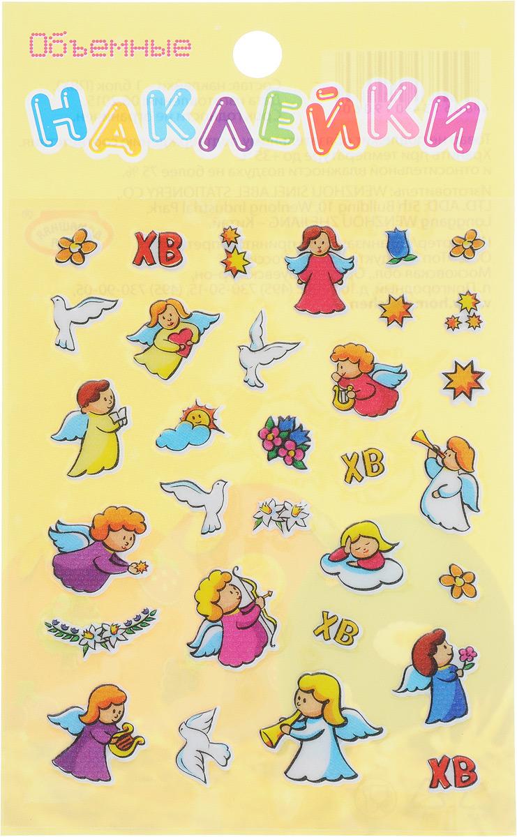 Наклейки для пасхальных яиц Домашняя кухня Ассорти, объемные, 31 штhk19060_ангелНабор декоративных наклеек Домашняя кухня Ассорти, выполненный из ПВХ, предназначен для украшения пасхальных яиц. В набор входит 31 объемная наклейка. Оригинальные наклейки разных форм и дизайна оснащены задней клейкой стороной. Средний размер наклеек: 1,4 х 1 см.