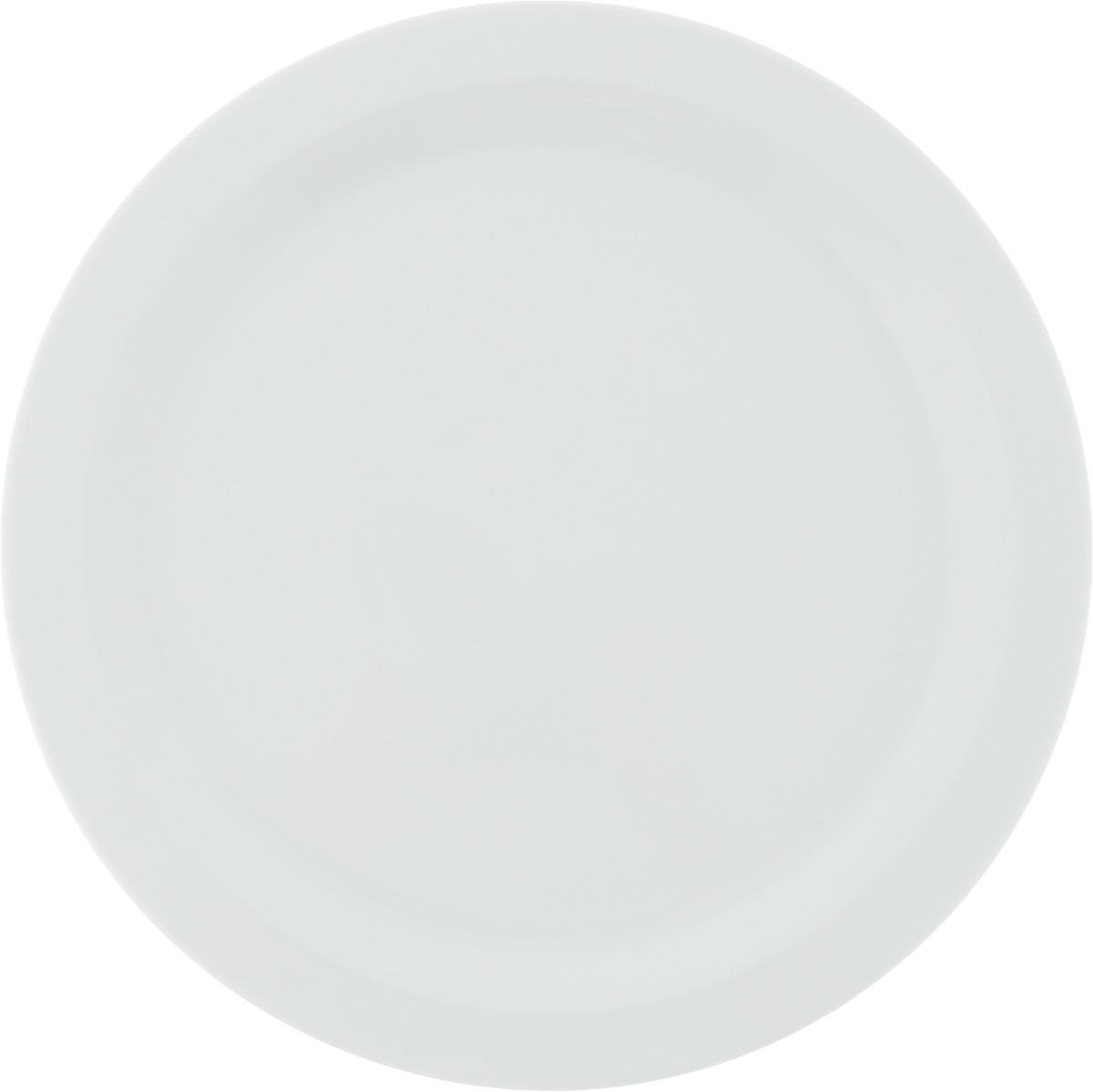 Тарелка обеденная Tescoma Gustito, диаметр 27см386326Обеденная тарелка Tescoma Gustito изготовлена из первоклассного фарфора с глазурованным покрытием. Изделие идеально подходит для сервировки любого стола.Такая тарелка прекрасно впишется в интерьер вашей кухни и станет достойным дополнением к кухонному инвентарю. Подходит для использования в микроволновой печи и холодильнике. Можно мыть посудомоечной машине.