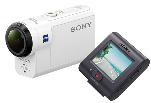 Sony HDR-AS300R, White экшн-камера