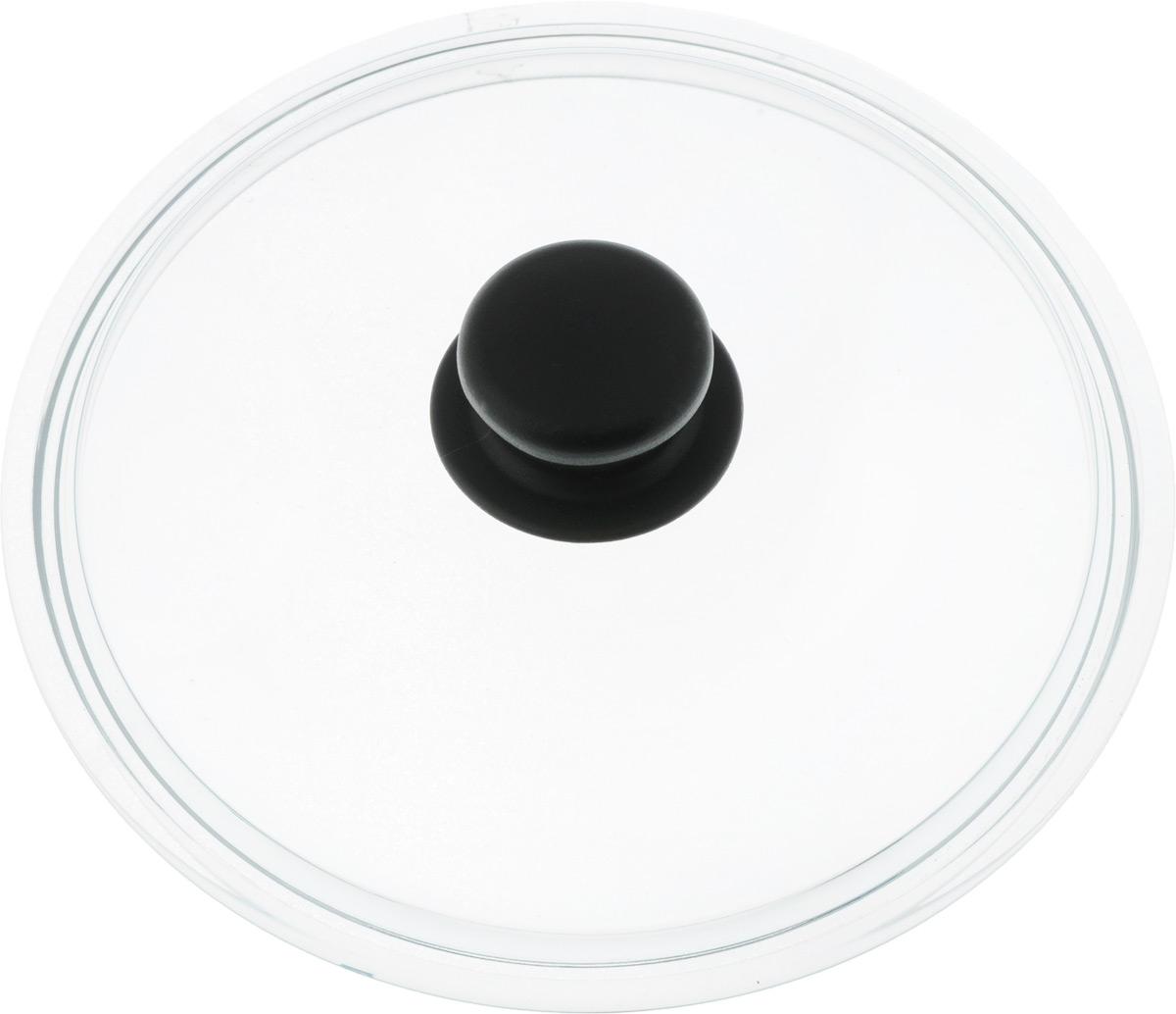 Крышка стеклянная Добрыня. Диаметр 22 см. DO-4002DO-4002Крышка Добрыня изготовлена из термостойкого и экологически чистого стекла. Крышка оснащена удобной ненагревающейся ручкой из пластика. Такая крышка позволит следить за процессом приготовления пищи без потери тепла. Она плотно прилегает к краям посуды, сохраняя аромат блюд. Выдерживает перепады температур от -40°С до +150°С. Можно мыть в посудомоечной машине. Изделие можно использовать в духовке без ручки.