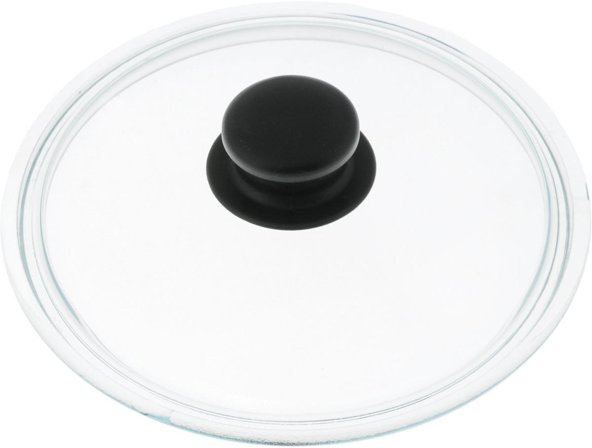 Крышка стеклянная Добрыня. Диаметр 20 см. DO-4001DO-4001Крышка Добрыня изготовлена из термостойкого и экологически чистого стекла. Крышка оснащена удобной ненагревающейся ручкой из пластика. Такая крышка позволит следить за процессом приготовления пищи без потери тепла. Она плотно прилегает к краям посуды, сохраняя аромат блюд. Выдерживает перепады температур от -40°С до +150°С. Можно мыть в посудомоечной машине. Изделие можно использовать в духовке без ручки.