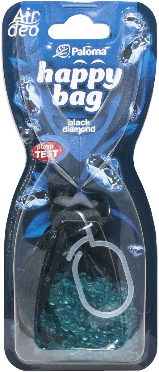 Ароматизатор автомобильный Paloma Happy Bag. Black Diamond black diamond фонарь кемпинговый black diamond moji