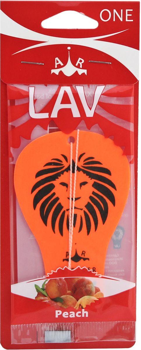Ароматизатор автомобильный LAV One. Peach50564Подвесной автомобильный ароматизатор Lav наполнит салон автомобиля приятным ароматом надолго. Ароматизатор поможет нейтрализовать неприятный запах табака и не только.