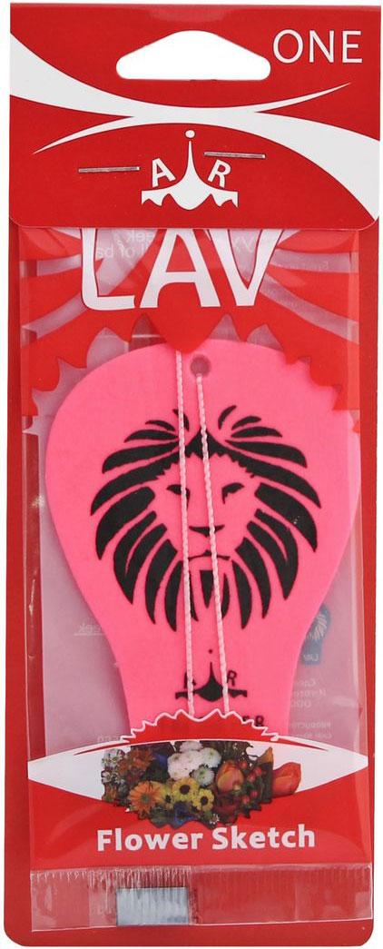 Ароматизатор автомобильный LAV One. Flower Sketch50569Подвесной автомобильный ароматизатор Lav наполнит салон автомобиля приятным ароматом надолго. Ароматизатор поможет нейтрализовать неприятный запах табака и не только.