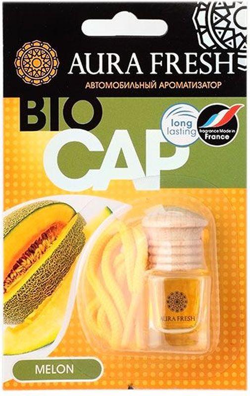 Ароматизатор автомобильный Aura Fresh Bio Cap. Melon ароматизатор fresh way парус машина капучино и ваниль