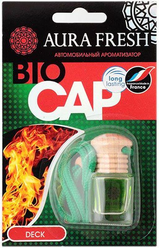 Ароматизатор автомобильный Aura Fresh Bio Cap. Deck ароматизатор fresh way парус машина капучино и ваниль