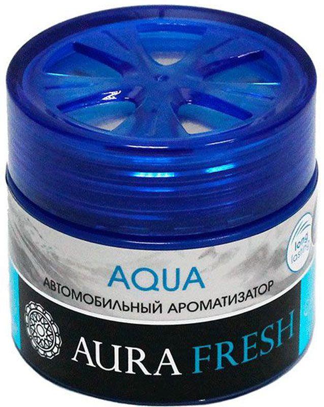 Ароматизатор автомобильный Aura Fresh Aqua, на панель ароматизатор fresh way парус машина капучино и ваниль