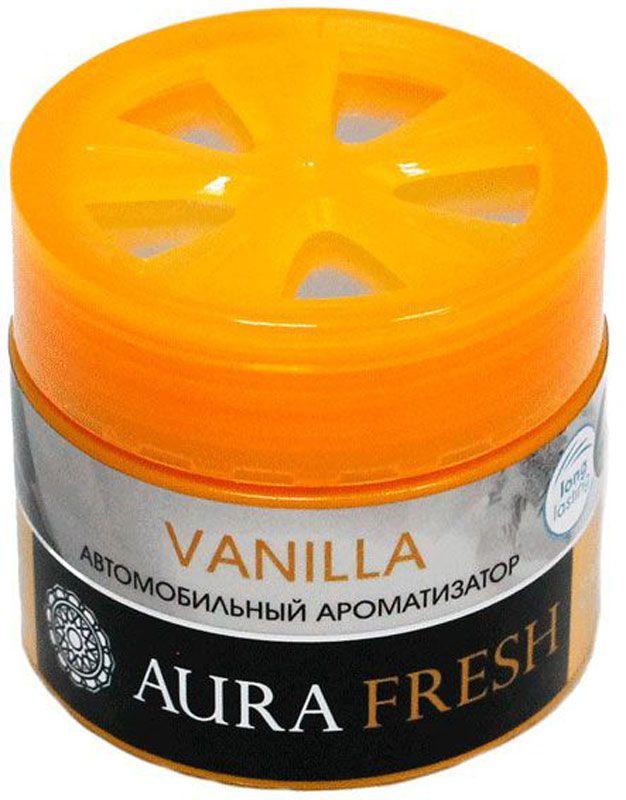 Ароматизатор автомобильный Aura Fresh Vanilla, на панельAUR-CG-0004Ароматизатор Aura Fresh крепится на панель внутри автомобиля. Водителю больше не понадобится все время открывать окна для проветривания. Диффузор поддерживает ощущение чистоты и свежести. Ароматическая композиция раскрывается постепенно и ненавязчиво и обеспечивает нежный запах, который сохраняется максимально долго.