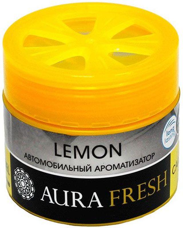 Ароматизатор автомобильный Aura Fresh Lemon, на панель