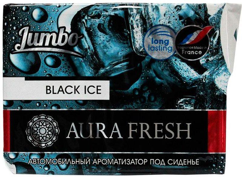 Ароматизатор автомобильный Aura Fresh Jumbo. Black Ice, под сиденьеAUR-J-0002Автомобильный ароматизатор Aura Fresh эффективно устраняет неприятныезапахи и придает легкий приятный аромат. Сочетание геля с парфюмами наилучшего качества обеспечивает устойчивый запах. Благодаря удобной конструкции, его можно положить под сиденье.