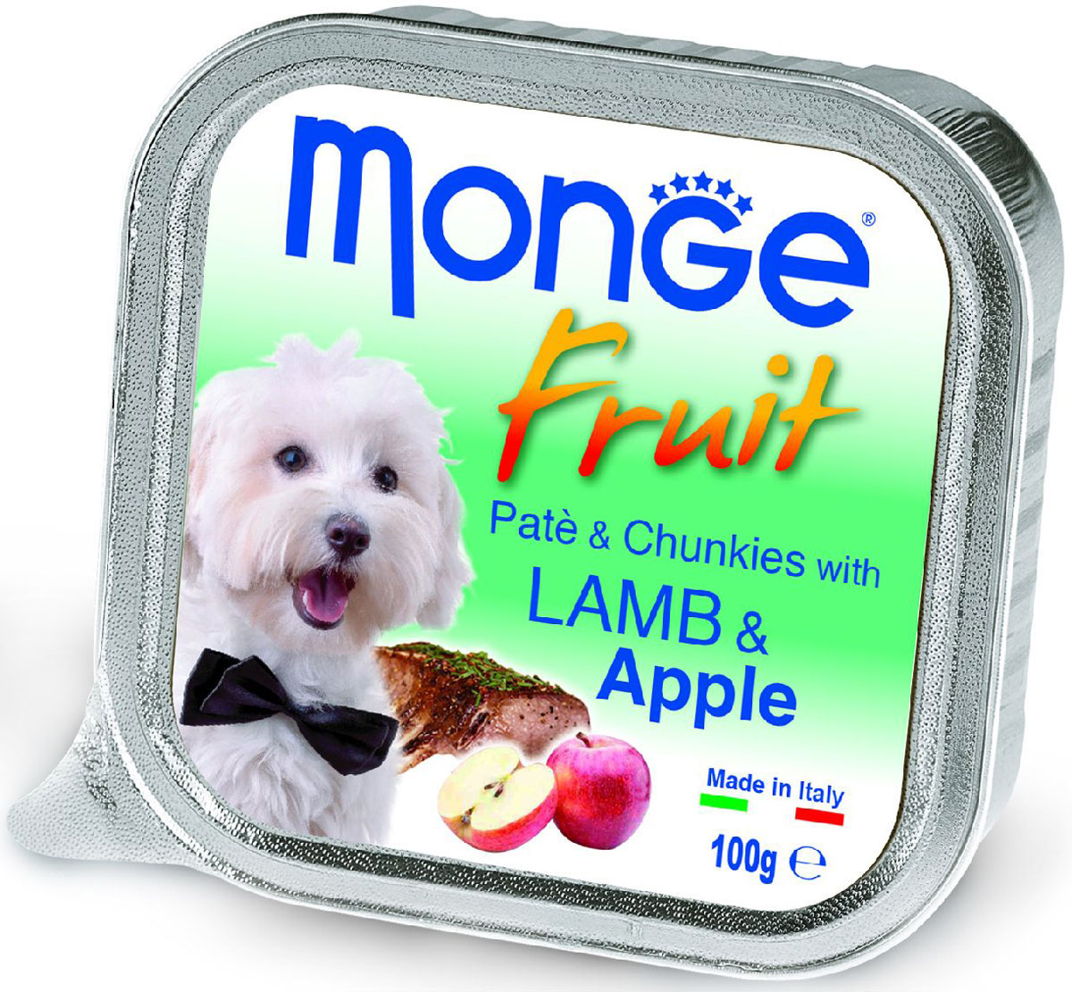 Консервы Monge Dog Fruit, для собак, с ягненком и яблоком, 100 г фурминатор для собак короткошерстных пород furminator short hair large dog