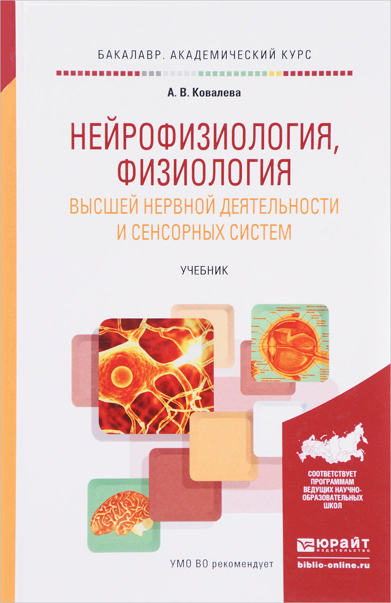 А. В. Ковалева Нейрофизиология, физиология высшей нервной деятельности и сенсорных систем. Учебник самко ю морфология и физиология сенсорных систем и высшей нервной деятельности учебное пособие