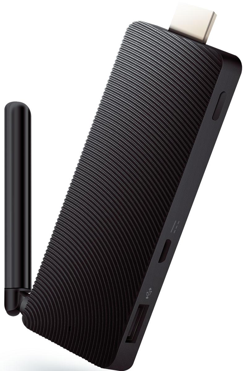 Rombica WinStick v01 мини ПКWPC-SB001Rombica WinStick v01 — компактный стик, который подключается к HDMI разъему телевизора или монитораи превращает его в полноценный персональный компьютер под управлением Windows 10 Домашняя.Знакомый интерфейс Windows позволяет легко использовать знакомое меню Пуск, панель задач и рабочий стол. Живые плитки обеспечивают мгновенную потоковую передачу самой важной информации.Браузер Microsoft Edge предоставляет расширенные возможности просмотра веб-страниц и делает работу в Интернете удобнее и эффективнее. Теперь писать и печатать можно непосредственно на веб-страницах. Избавьтесь от отвлекающих факторов во время чтения веб-статей.Windows 10 предлагает целый арсенал новых функций, связанных с окнами и многозадачностью. Она позволяет не отвлекаться от дел благодаря простым способам закрепления приложений на месте и оптимизации пространства экрана.Попробуйте новый Office 2016. Создавайте красивые документы в знакомых и проверенных приложениях Office. Войдите в систему один раз, и все ваши параметры и документы будут с вами на всех ваших устройствах с Windows.Пониженное энергопотребление благодаря энергосберегающим технологиям процессора Intel AtomИспользуйте преимущество облачного хранения и поддержки MicroSDXC-картБесшумная работа: дизайн корпуса обеспечивает безвентиляторную систему охлажденияМини ПК сертифицирован EAC и имеет русифицированный интерфейс меню и Руководство пользователя