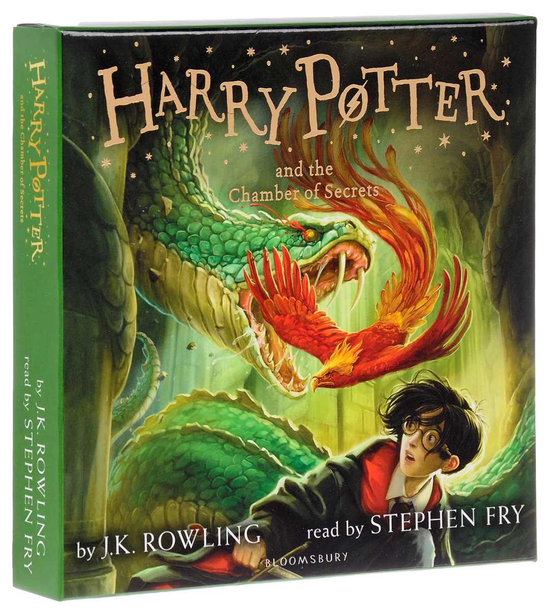 Harry Potter and the Chamber of Secrets (аудиокнига на 8 CD) harry potter the chamber of secrets