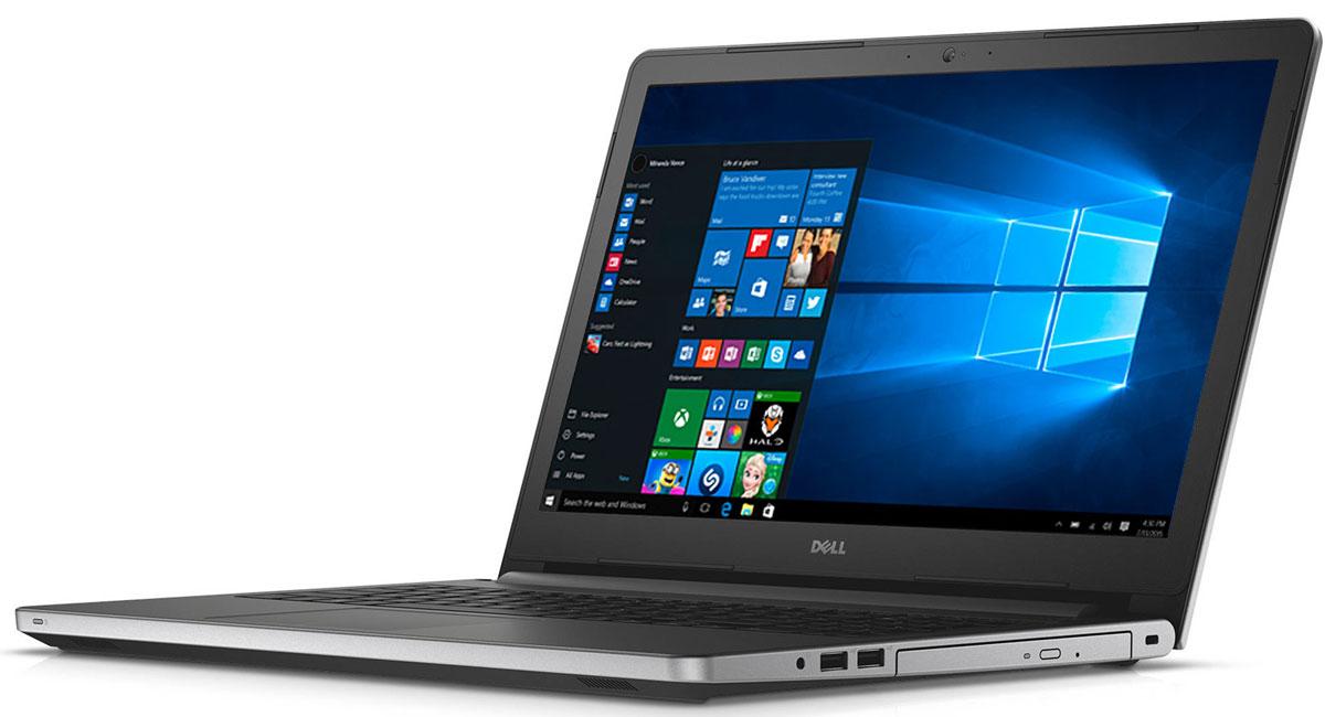 Dell Inspiron 5759-7997, Silver5759-7997Dell Inspiron 5759 - достаточно просторный для воплощения ваших идей. Современный 17,3-дюймовый ноутбук с процессором Intel, дисководом DVD-дисков и ярким дисплеем с поддержкой разрешения HD+.Быстрая загрузка веб-страниц, игр и приложений благодаря процессорам Intel, обеспечивающим высочайшую производительность и потрясающее качество изображения. Увеличенное время работы без подзарядки. Удаляйтесь от сети электропитания без всяких опасений. Вместительный аккумулятор поможет вам увеличить время между зарядками до 7 часов.Поддержка технологии True Color обеспечивает возможность настройки насыщенности цветов в соответствии с личными предпочтениями пользователя. Скорректируйте температуру цвета и тон, чтобы установить уровень насыщенности цветов в соответствии со своими потребностями. Чем бы вы ни занимались - микшированием, прослушиванием потокового аудио или общением, - технология MaxxAudio компании Waves делает низкие частоты ниже, а высокие частоты - выше, обеспечивая фантастическое качество звучания.Смотрите фильмы с DVD-дисков, записывайте компакт-диски или быстро загружайте системное программное обеспечение и приложения на свой компьютер с помощью внутреннего дисковода оптических дисков. Эффективный ввод данных: оперативно выполняйте расчеты или работайте с электронными таблицами и документами с помощью десятизначной цифровой клавиатуры.Точные характеристики зависят от модификации.Ноутбук сертифицирован EAC и имеет русифицированную клавиатуру и Руководство пользователя.