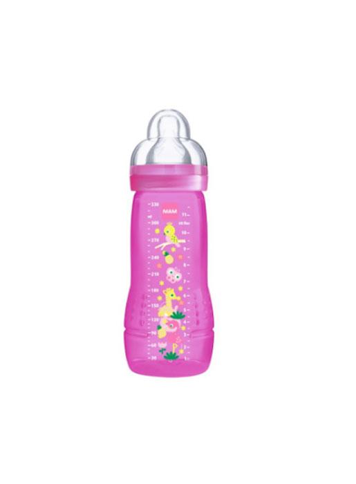 MAM Бутылочка для кормления 330 мл цвет малиновый -  Бутылочки