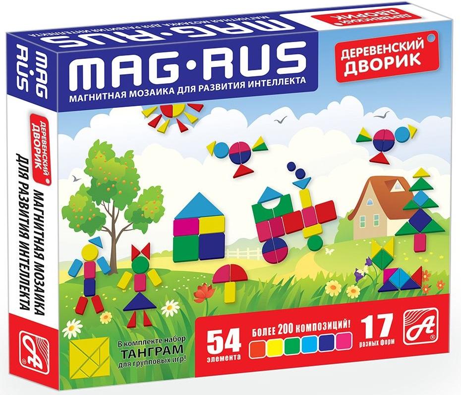 Mag-Rus Мозаика магнитная Деревенский дворик поильники pigeon mag mag с трубочкой 8 мес 200 мл