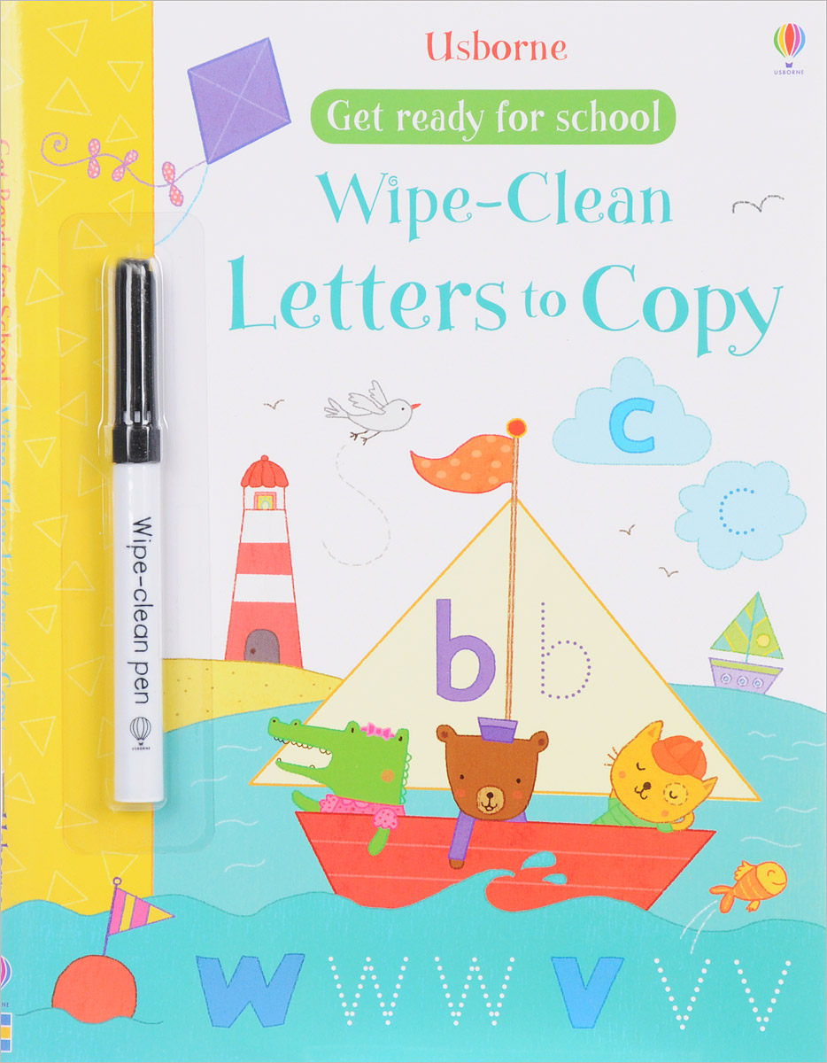 Wipe-clean Letters to Copy (+ pen)