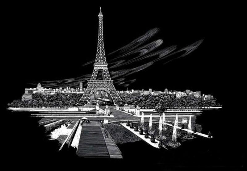 Royal & Langnickel Гравюра Эйфелева башня