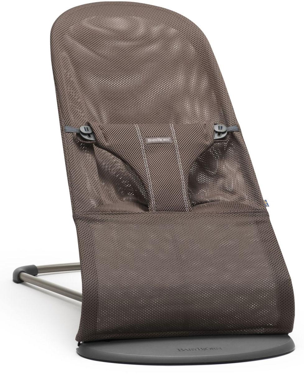 BabyBjorn Кресло-шезлонг Bouncer Bliss Mesh цвет кофейный кресла качалки шезлонги babybjorn кресло шезлонг bliss mesh