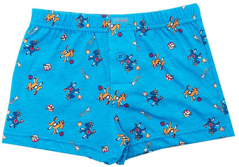 Трусы-боксеры для мальчика Lowry, цвет: голубой. BSH-286. Размер XL (134/140) трусы lowry трусы 3 шт