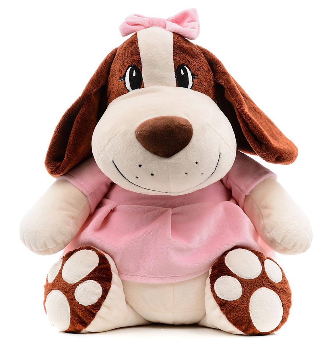 СмолТойс Мягкая игрушка Собачка Сонечка 47 см малышарики мягкая игрушка собачка 25 см