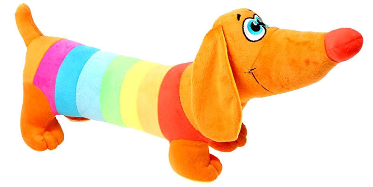 СмолТойс Мягкая игрушка Такса радужная 57 см мягкие игрушки spiegelburg такса baby gluck