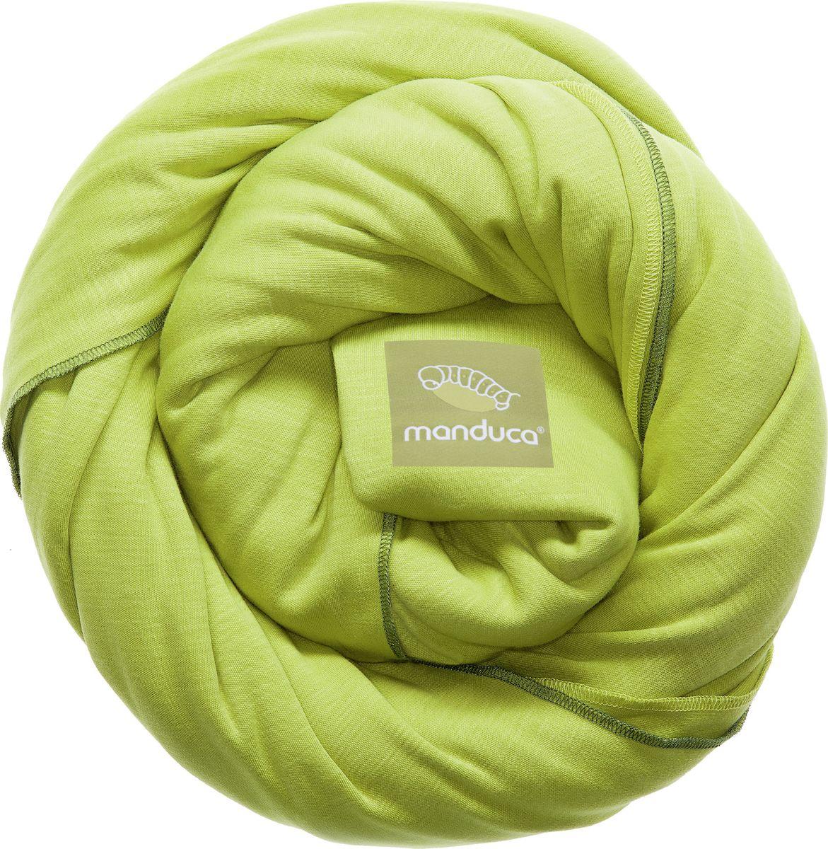 Manduca Слинг-шарф цвет лайм manduca слинг рюкзак purecotton цвет красный