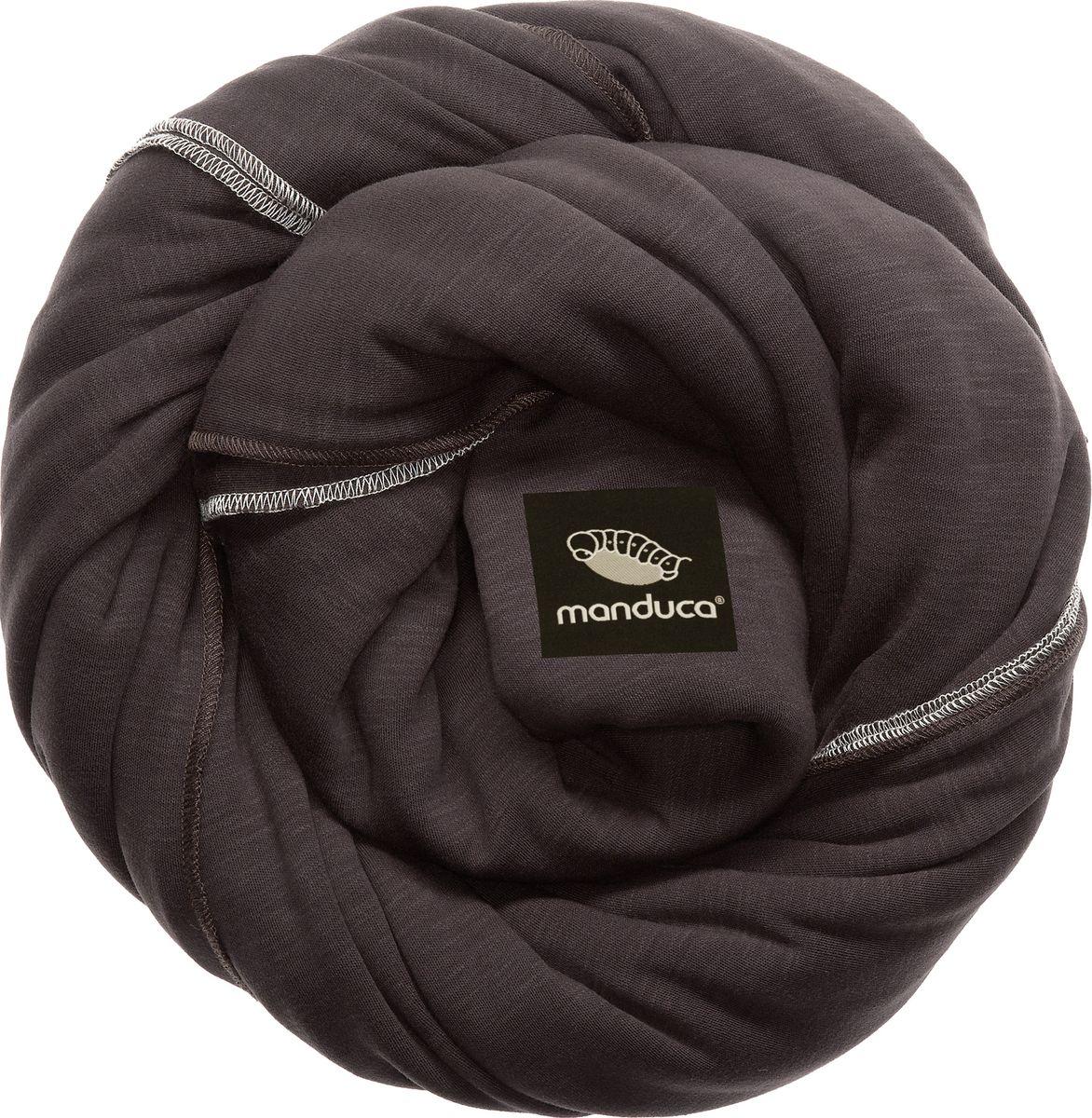Manduca Слинг-шарф цвет коричневый manduca слинг рюкзак purecotton цвет красный