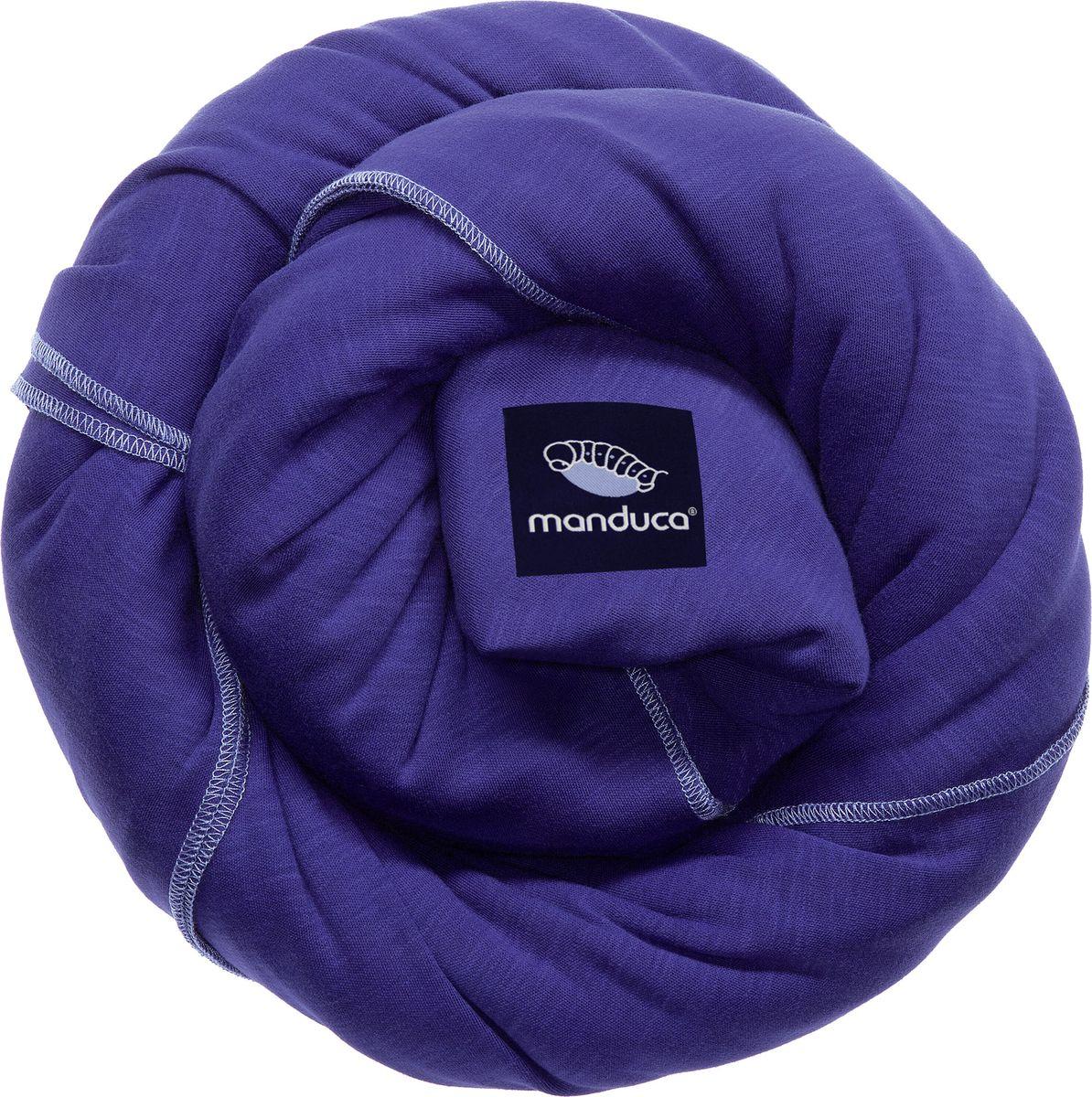 Manduca Слинг-шарф цвет синий manduca слинг рюкзак purecotton цвет красный