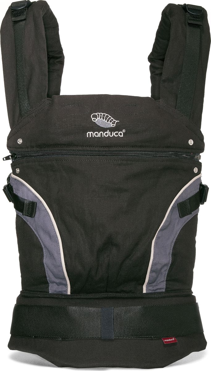 Manduca Слинг-рюкзак First Black цвет черный manduca слинг рюкзак purecotton цвет красный