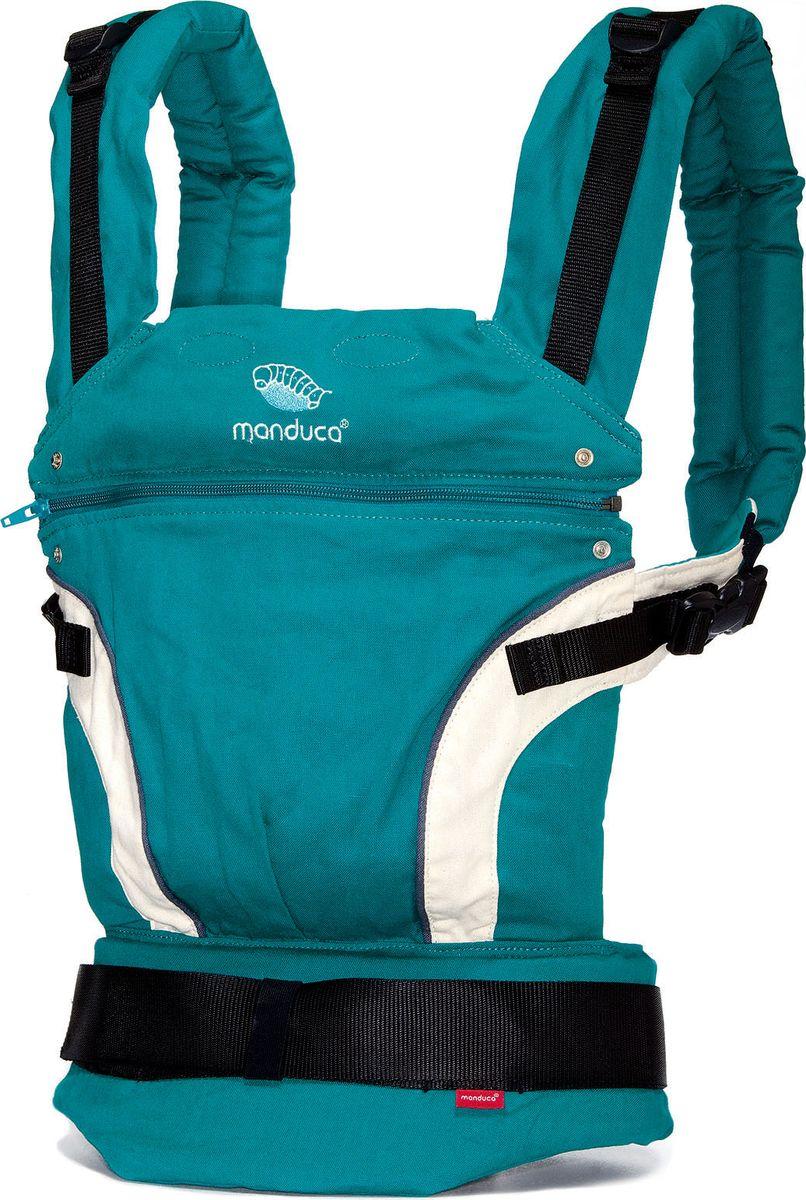 Manduca Слинг-рюкзак First Petrol цвет бирюзовый manduca слинг рюкзак purecotton цвет красный