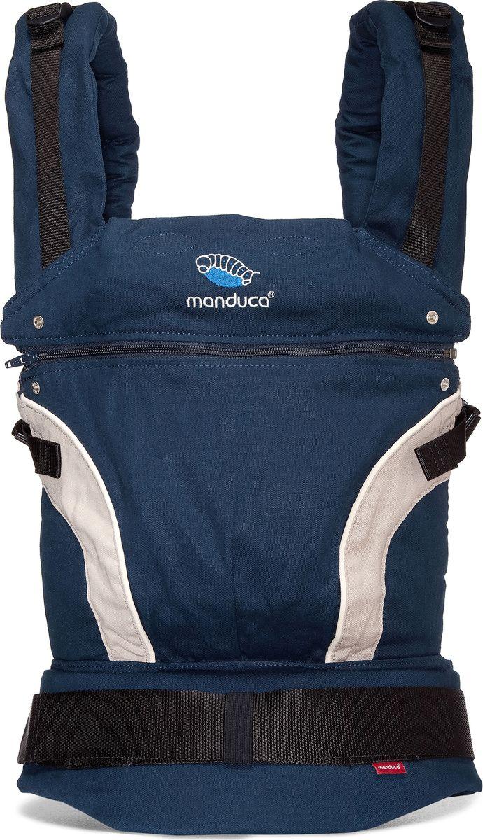 Manduca Слинг-рюкзак First Navy цвет темно-синий manduca слинг рюкзак purecotton цвет красный