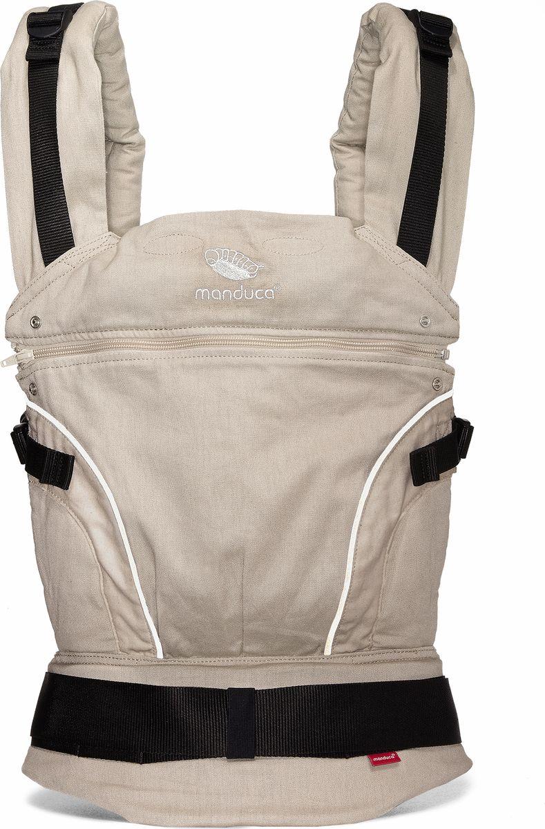 Manduca Слинг-рюкзак PureCotton цвет песочный manduca слинг рюкзак purecotton цвет красный