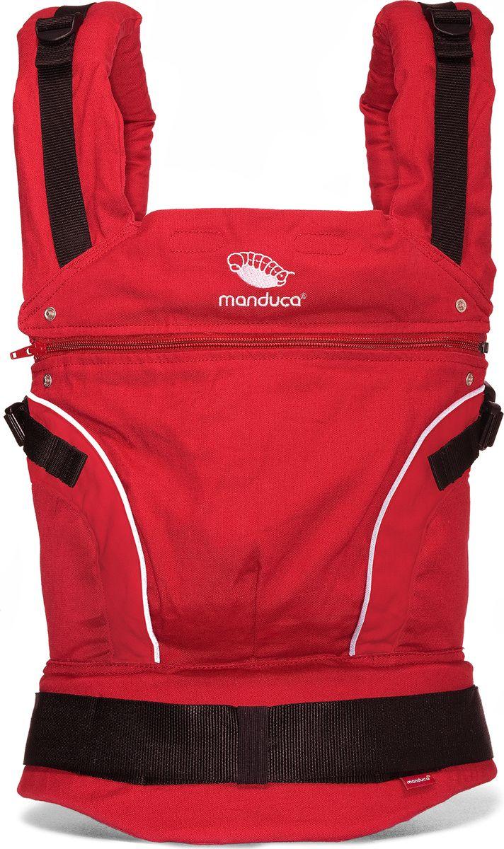 Manduca Слинг-рюкзак PureCotton цвет красный - Рюкзаки, слинги, кенгуру