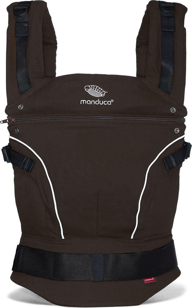 Manduca Слинг-рюкзак PureCotton цвет коричневый manduca слинг рюкзак purecotton цвет красный