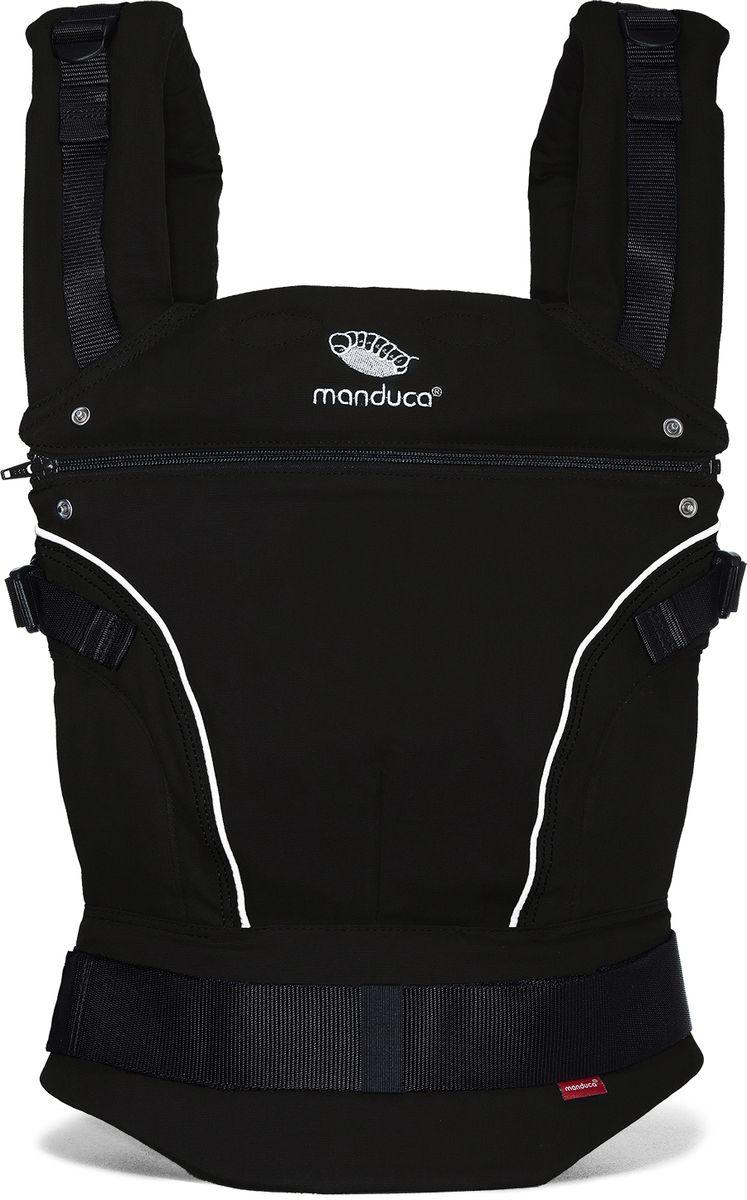 Manduca Слинг-рюкзак PureCotton цвет черный manduca слинг рюкзак purecotton цвет красный