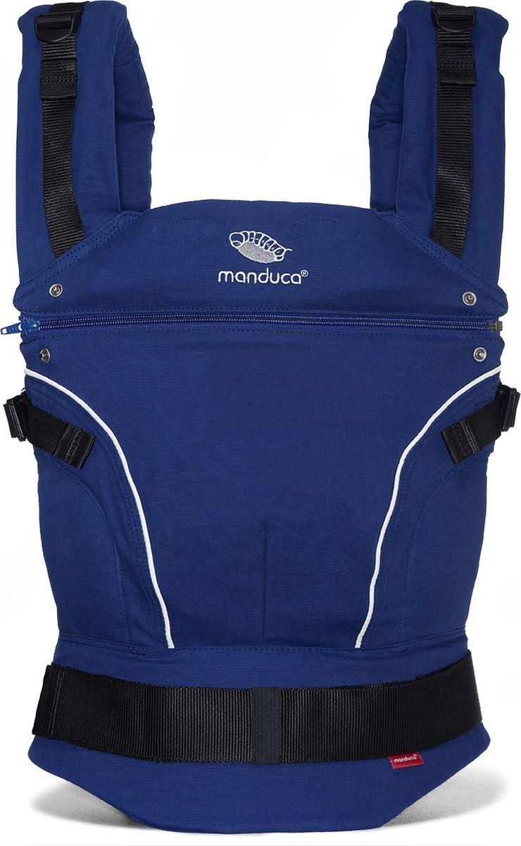 Manduca Слинг-рюкзак PureCotton цвет синий - Рюкзаки, слинги, кенгуру