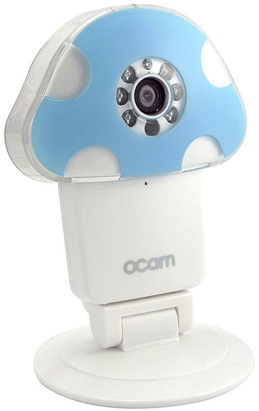 OCam-M1, Blue IP-камераOCAM-M1+BlueС помощью уникальной камеры OCam-M1 вы больше не будете переживать за безопасность своего дома, когда соберетесь в командировку или долгожданный отпуск. Она поможет вам следить за ребенком, престарелыми родителями и даже вашим домашним питомцем.Когда камера фиксирует плач вашего ребенка или какие-то посторонние звуки вокруг, системы слежения незамедлительно отправляют уведомления родителям и автоматически начинают запись в одну минуту, чтобы зафиксировать, что ребенок находится в безопасности. Кроме того, вы можете наблюдать за вашим ребенком даже в условиях плохого освещения.Ночной режим и инфракрасная подсветка, а также широкоугольная оптика позволят вам с комфортом наблюдать за сном вашего малыша даже в вечернее время суток.Возможность использования карты памяти объемом более 8 Гб позволяет делать записи длительностью почти в неделю.Для начала работы с камерой достаточно подключить ее к домашней сети Wi-Fi, следуя несложным указаниям в инструкции. После этого изображение можно просматривать, находясь в любой точке мира – для этого достаточно воспользоваться веб-интерфейсом или специальным мобильным приложением.Для шифрования сигнала, передаваемого камерой, используется современная технология AES. Она не позволяет посторонним людям, не знающим пароля, просматривать изображение.