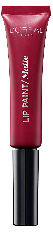 LOreal Paris Краска для губ Infaillible Lip Paint, жидкая помада, матовая, Оттенок 205, Красное откровение, 8 млA8987000Яркие пигменты помад дарят насыщенный цвет, а плотная текстура легко ложится на губы и не стирается. Профессиональный аппликатор позволяет легко и точно нанести продукт на губы.